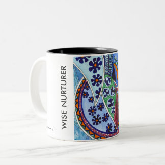 THE SPIDER WEB Two-Tone COFFEE MUG
