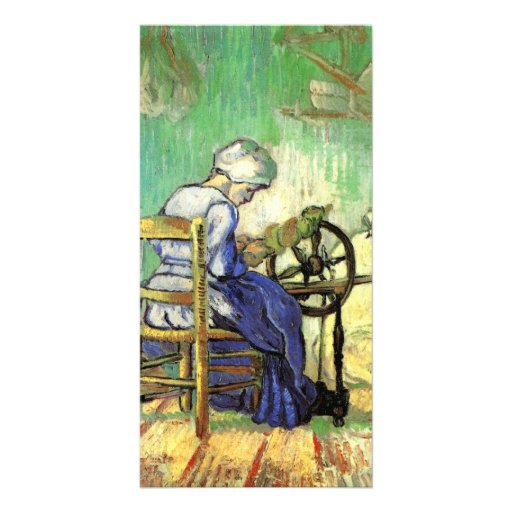 The Spinner by Vincent van Gogh Photo Card Template