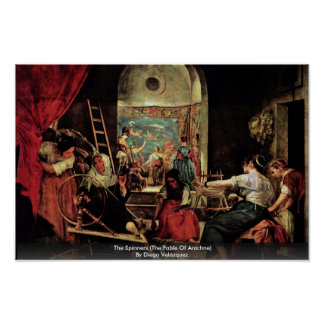 The Spinners The Fable Of Arachne Print