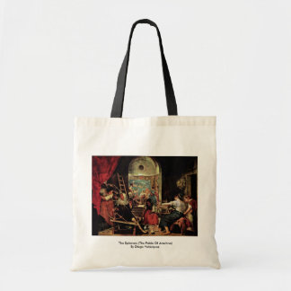 The Spinners (The Fable Of Arachne) Tote Bag