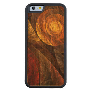 The Spiral of Life Abstract Art Cherry iPhone 6 Bumper