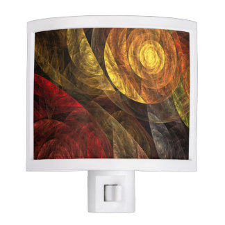 The Spiral of Life Abstract Art Nite Light
