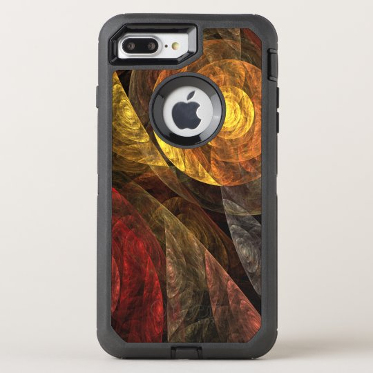The Spiral of Life Abstract Art OtterBox Defender iPhone 8 Plus/7 Plus Case