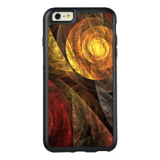The Spiral of Life Abstract Art OtterBox iPhone 6/6s Plus Case