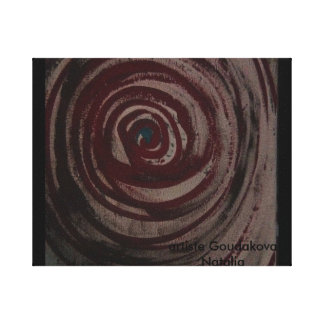 The spiral the swirl canvas print