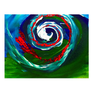The Spiral Wave of Infinity Postcard