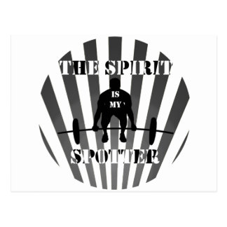 The Spirit is My Spotter Postcard