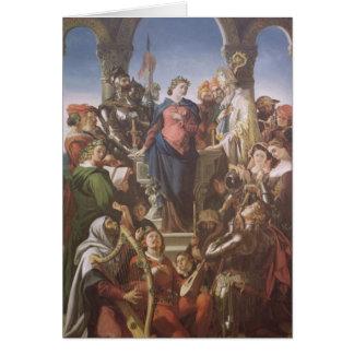 The Spirit of Chivalry, c.1845 Card