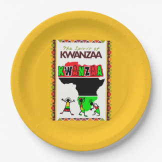The Spirit Of Kwanzaa Kwanzaa Party Paper Plates
