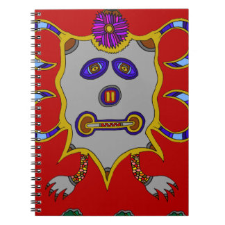 The Spirit of the Cold Winter Sun Notebook