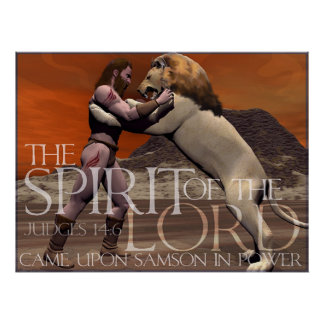 The Spirit of the Lord Poster