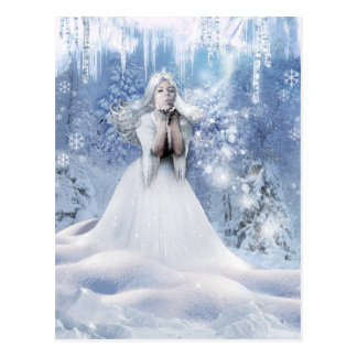 The Spirit of Winter Postcard