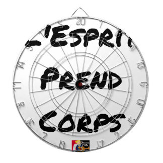 The SPIRIT SHAPES - Word games Dartboard