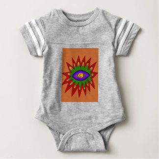 The Spiritual Atom Baby Bodysuit