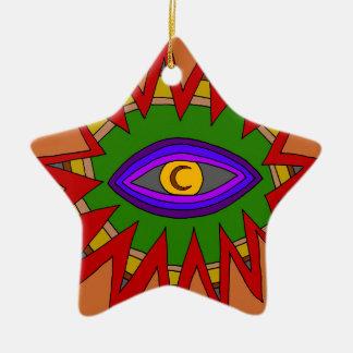The Spiritual Atom Ceramic Ornament