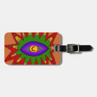 The Spiritual Atom Luggage Tag