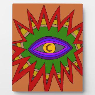 The Spiritual Atom Plaque