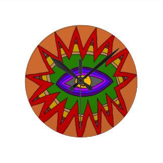 The Spiritual Atom Round Clock