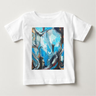 The Spiritual War ( abstract expressionism ) Baby T-Shirt