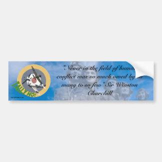 The Spitfire Club - The Few Bumper sticker