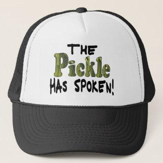 The Spoken Pickle Trucker Hat