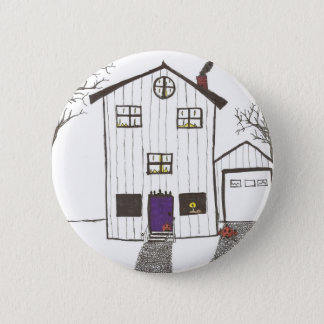 The Spooky House 2 Inch Round Button