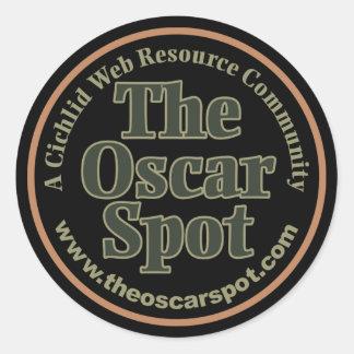 The Spot Round Sticker