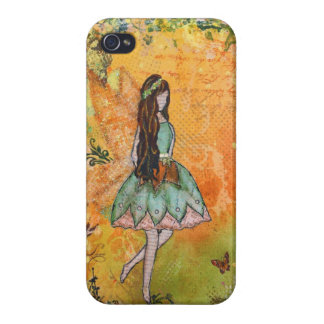 The Spring Fairy Art by Janelle Nichol Case For iPhone 4