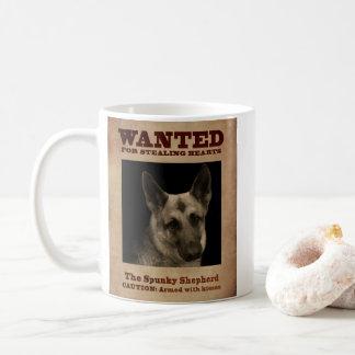 The Spunky German Shepherd Coffee Mug