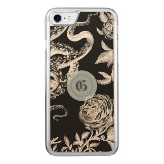 The Squid and The Rose Carved iPhone 8/7 Case