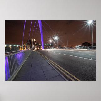 The Squinty Bridge, Glasgow Poster