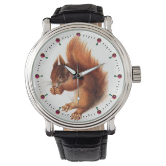 THE SQUIRREL WITH NUTS WATCH