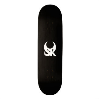 The SR Logo Skateboard - Black Ops edition