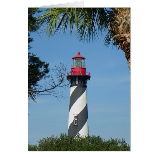 THE ST. AUGUSTINE LIGHTHOUSE Note Card