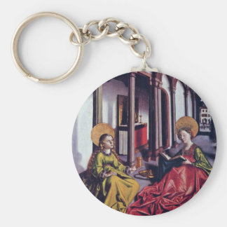 The St. Catherine And Mary Magdalene By Birth Name Keychain