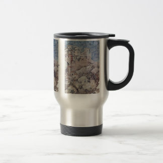 The St. Francis Gives His Coat Travel Mug