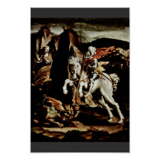 The St. George By Orsi Lelio (Best Quality) Poster