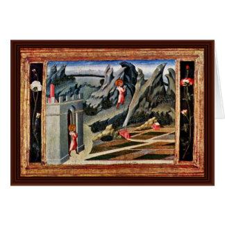 The St. John The Baptist Goes Into The Desert Card