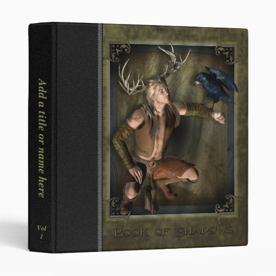 """The Stag Book of Shadows 1"""" Avery Binder"""
