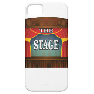 the stage goes on iPhone 5 cover