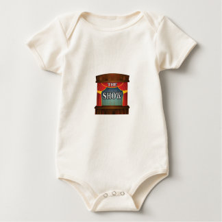 the stage show baby bodysuit