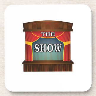 the stage show beverage coaster