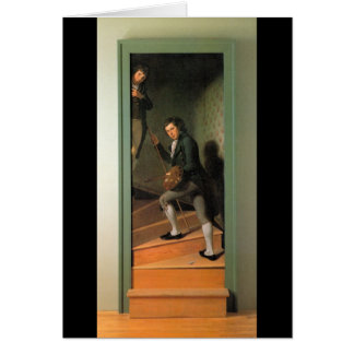 The Staircase Group, by Charles Willson Peale Card