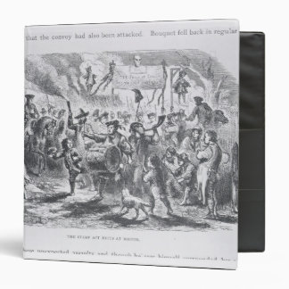 The Stamp Act Riots at Boston Vinyl Binders