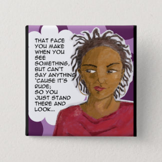 The 'Stank' Face 2 Inch Square Button