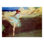 The Star: Dancer on Point by Degas Poster