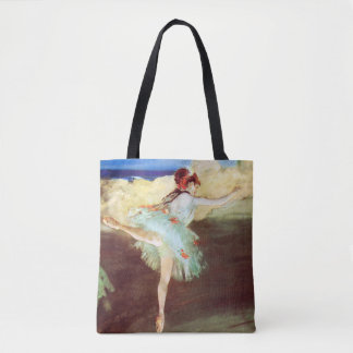 The Star: Dancer on Point by Degas Tote Bag