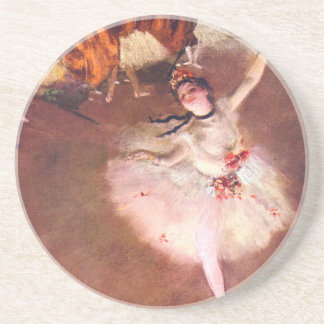The Star (Dancer on the Stage) by Edgar Degas Coaster