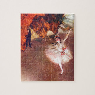 The Star (Dancer on the Stage) by Edgar Degas Jigsaw Puzzle
