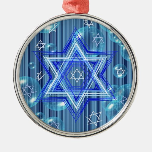 The Star of David and the bubbles. Ornaments